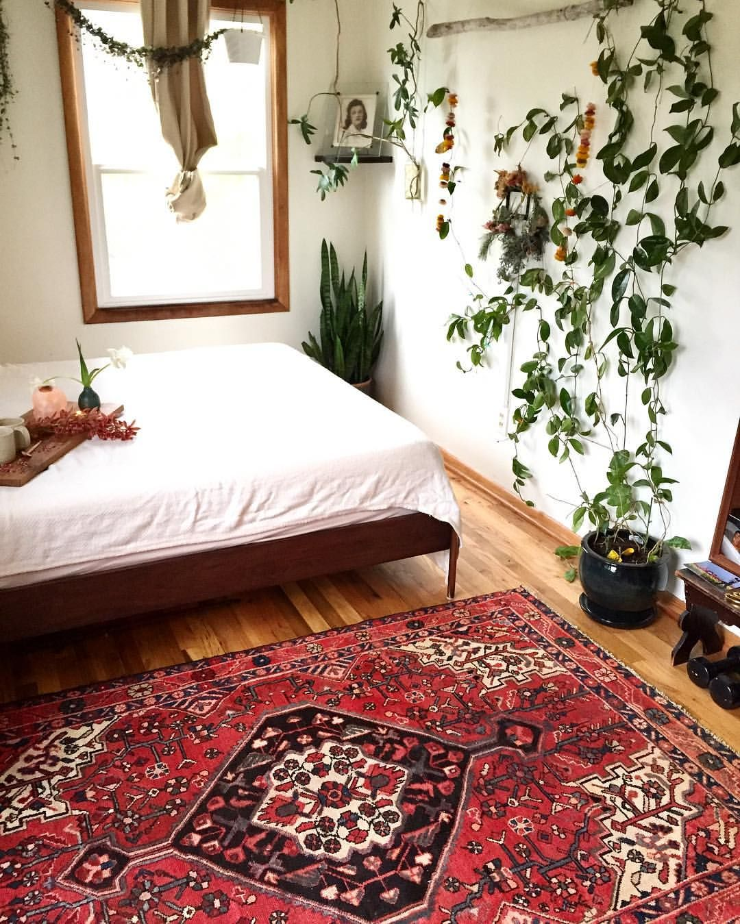 Retro Bedroom Chairs Persian Carpet Bedroom Blue Grey Bedroom Colour Scheme Bench Seat For Bedroom: SOLD I Just Added This Gorgeous Vintage Persian Rug To The