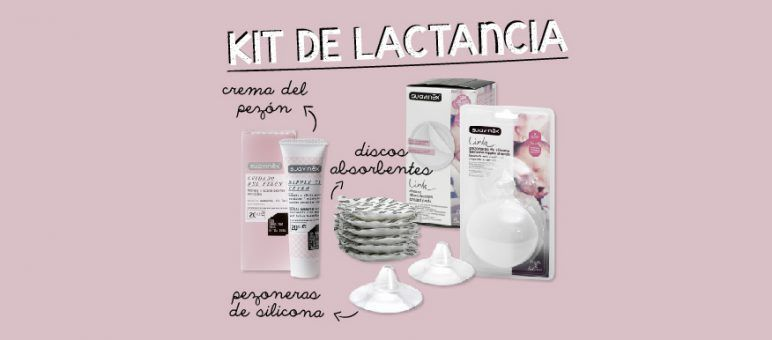 Kit de lactancia indispensable  discos absorbentes 3265c2f91a4b