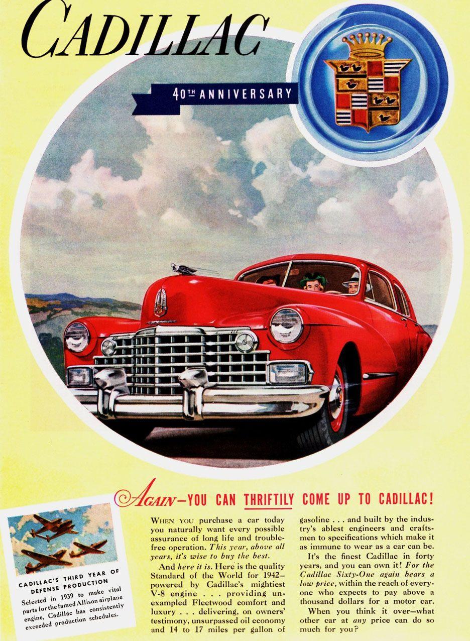 1942 cadillac brochures cadillacr brochures pinterest car stuff 1942 cadillac brochures sciox Gallery
