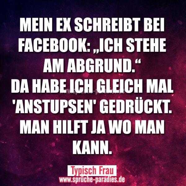 Anstupsen bei facebook geht nicht