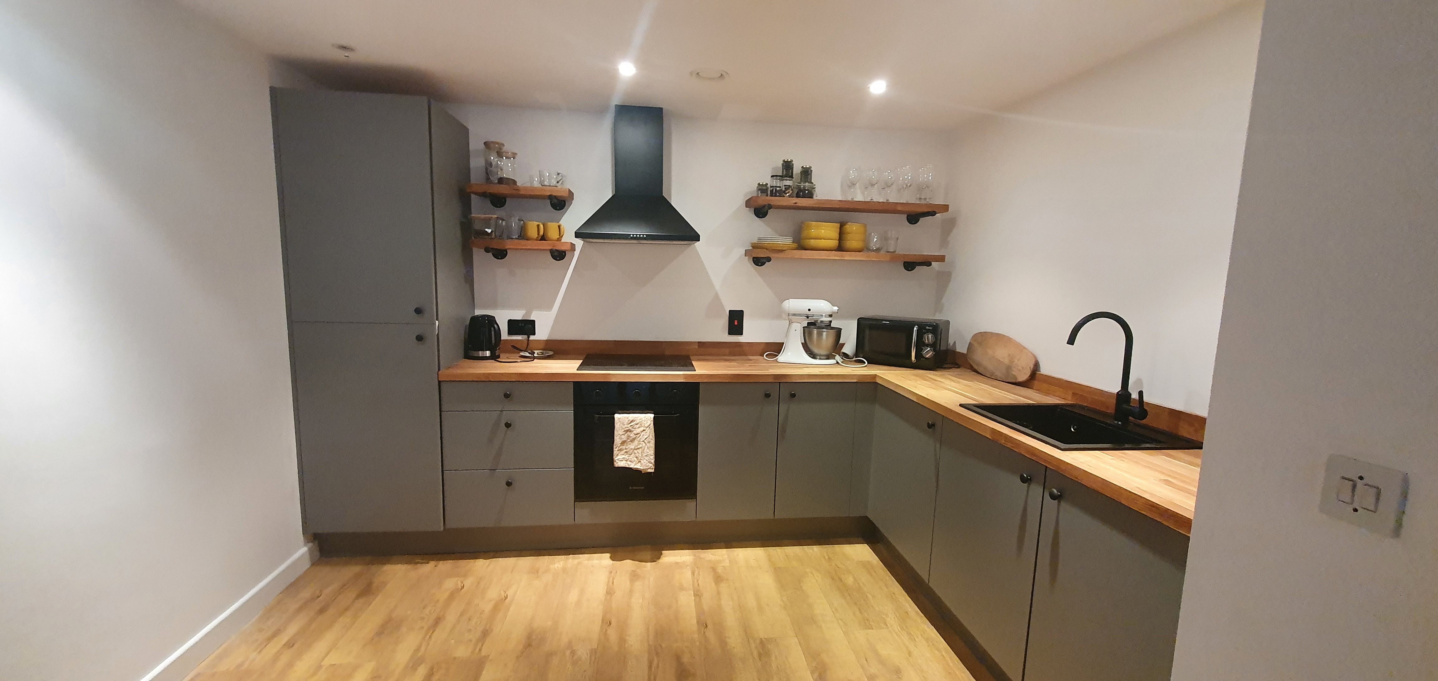 Supermatt Dust Grey Kitchen in 2020 Replacement kitchen