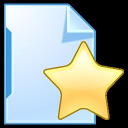 Document Star Icon Xp Artistic Icons Softicons Com Toolbar Icons Artist Icon