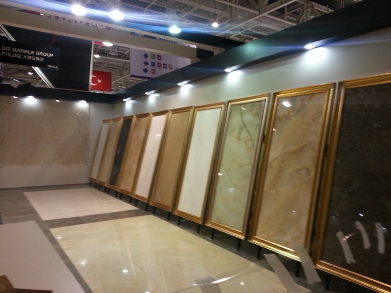 Xiamen Stone fair 2014 in CHINA.