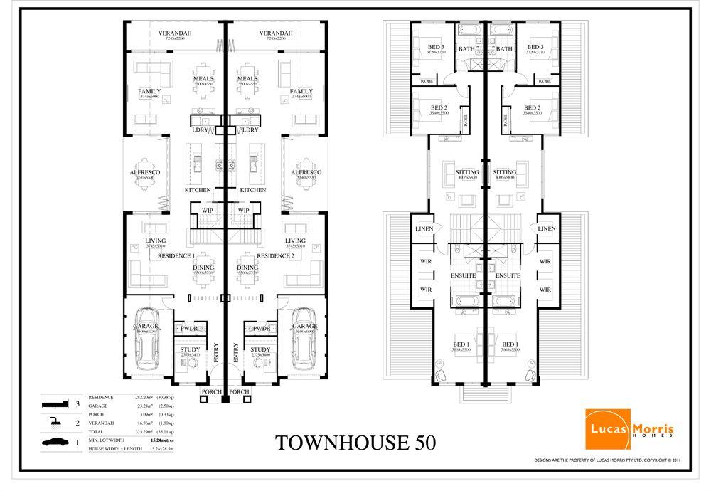 Y lucas morrisdisplay homesberwick waters villa for Dual occupancy home designs