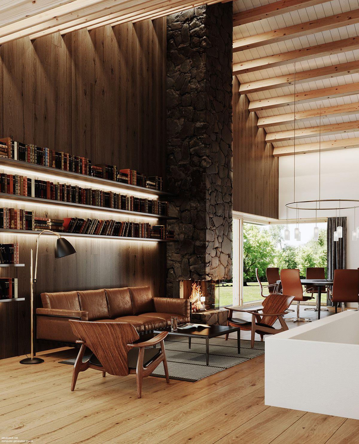 Kitchen Design Open, Interior
