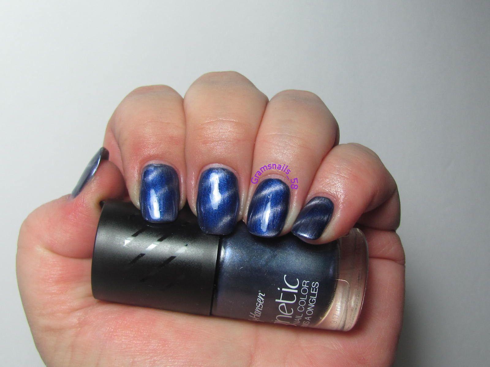 Sally Hansen Magnetic Cosmic Blue Nail Polish Sally Hansen Polish