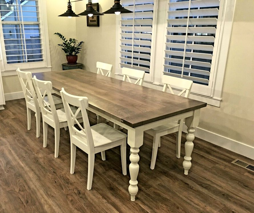 Farmhouse Charm Our Old English Dining Table Brings Warmth And Amazing English Dining Room Furniture