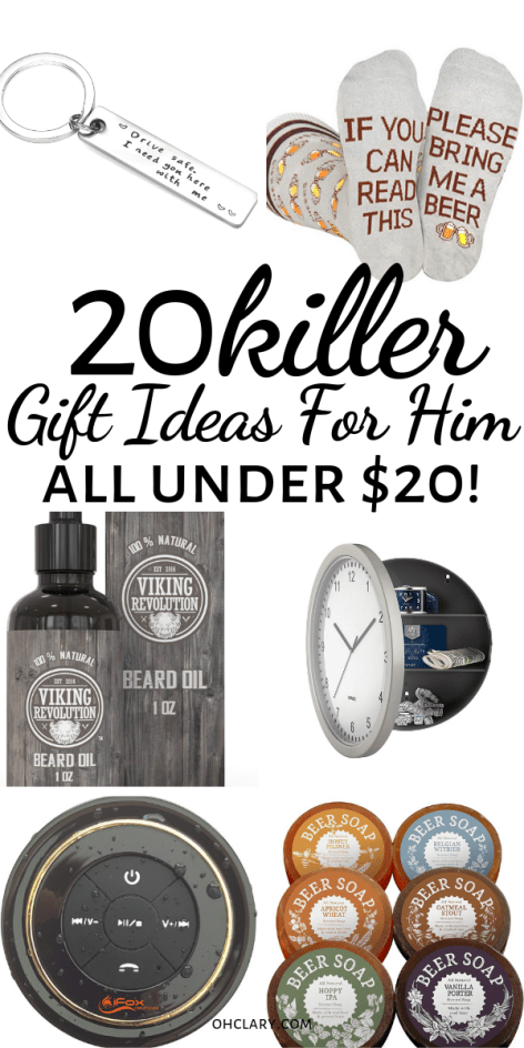 20 Gifts For Him Under 20 That Will Rock His World Thoughtful