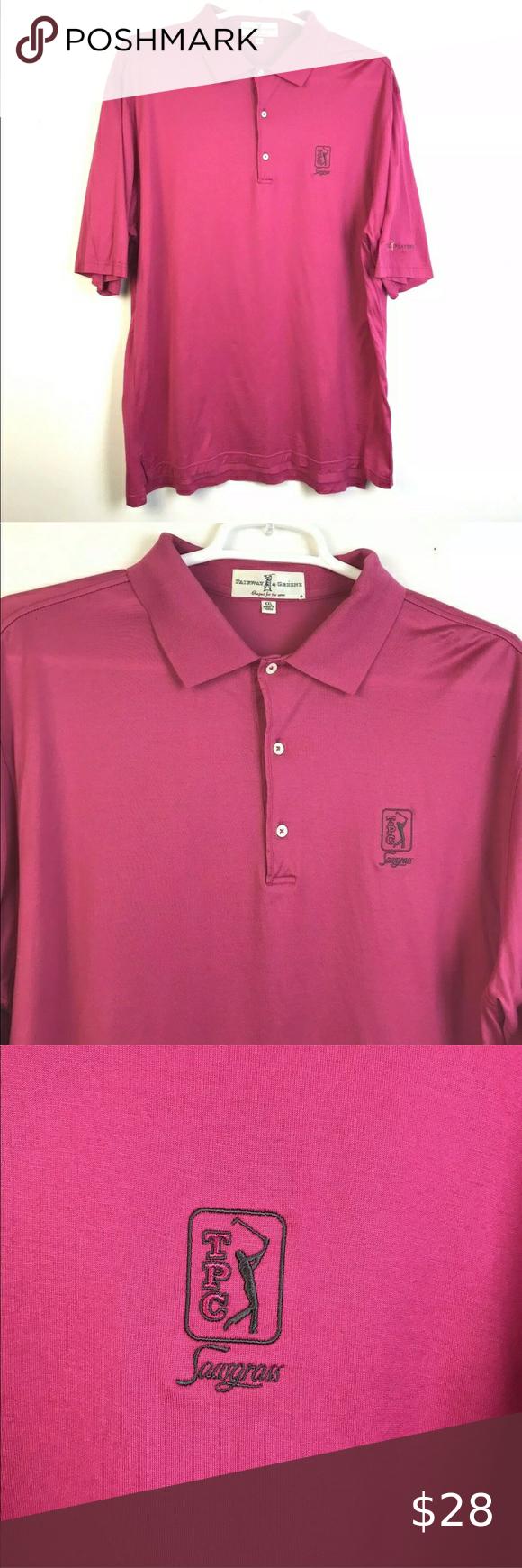 Fairway & Greene TPC Sawgrass Polo Shirt XXL Golf Fairway ...