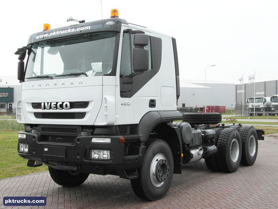 8 units Iveco AT380T42H TRAKKER 6x4 chassis cabin NEW