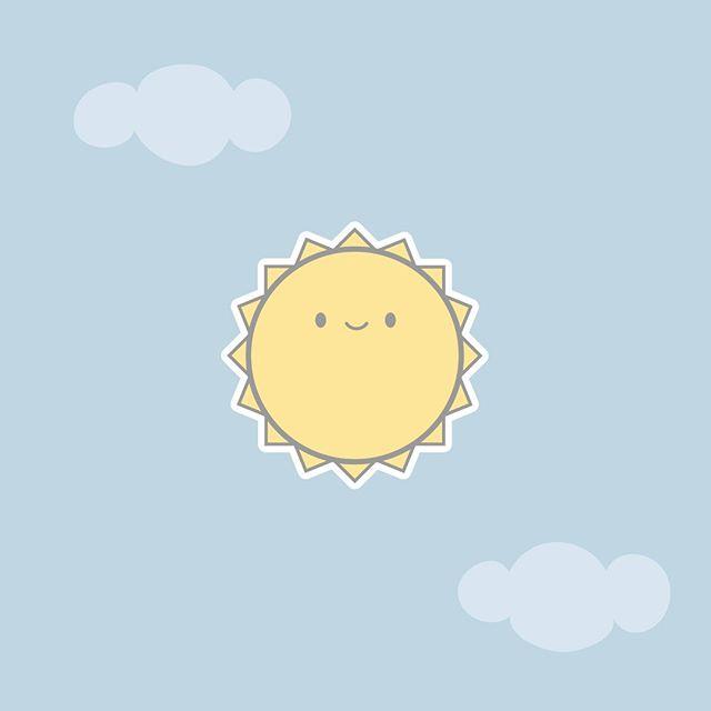 Diana Ciudad En Instagram Hoy Es El Segundo Dia En El 30dayschallenge Y Es Un Sol Solecito Kawaii Kawaiiart Artekawai En 2020 Arte Kawaii Kawaii Illustration