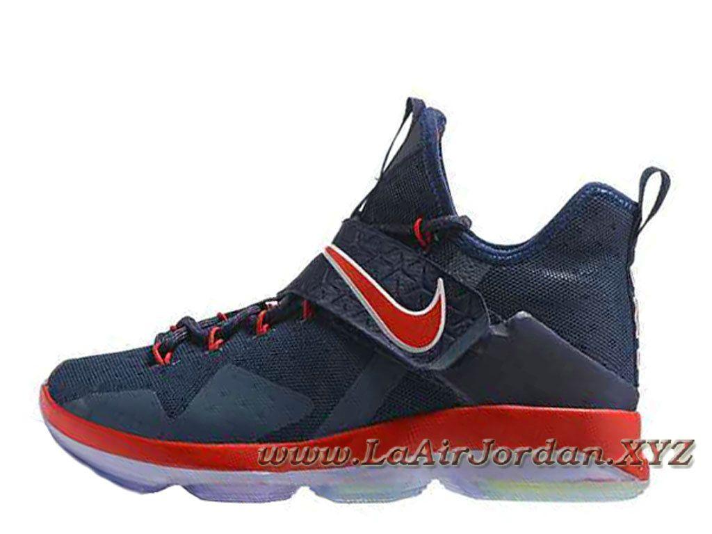 Nike Lebron 14 Deep Bleu Orange chaussures Officiel Nike lebron ...