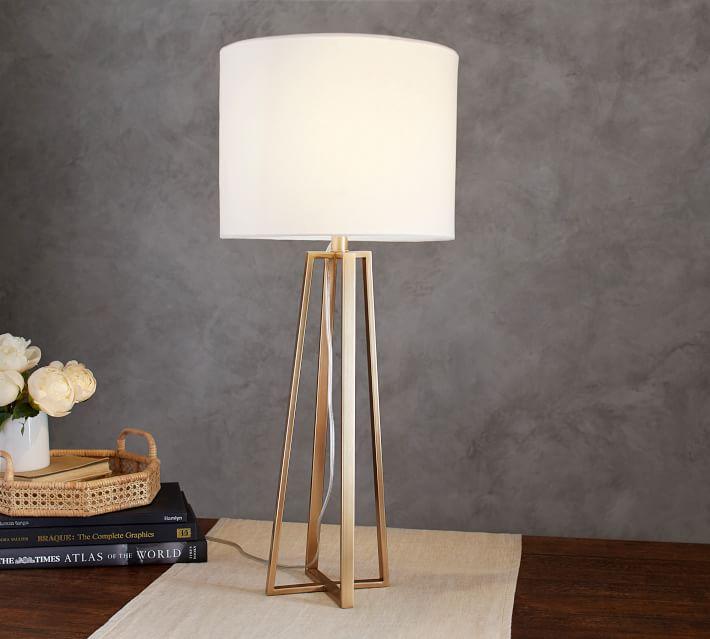 Carter Table Lamp Pottery Barn Lamp Table Lamp Room Lamp