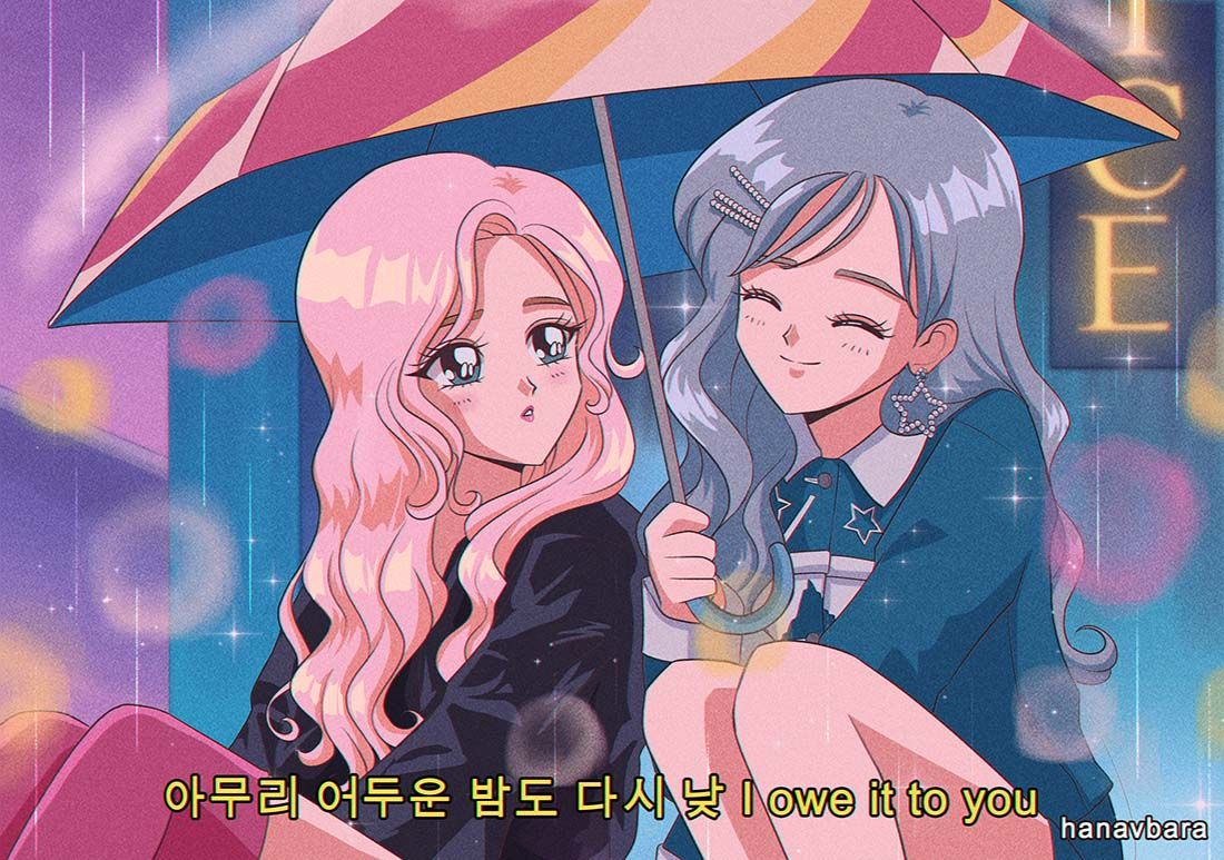 Photo of feel special as a 90's anime ✨ #TWICE