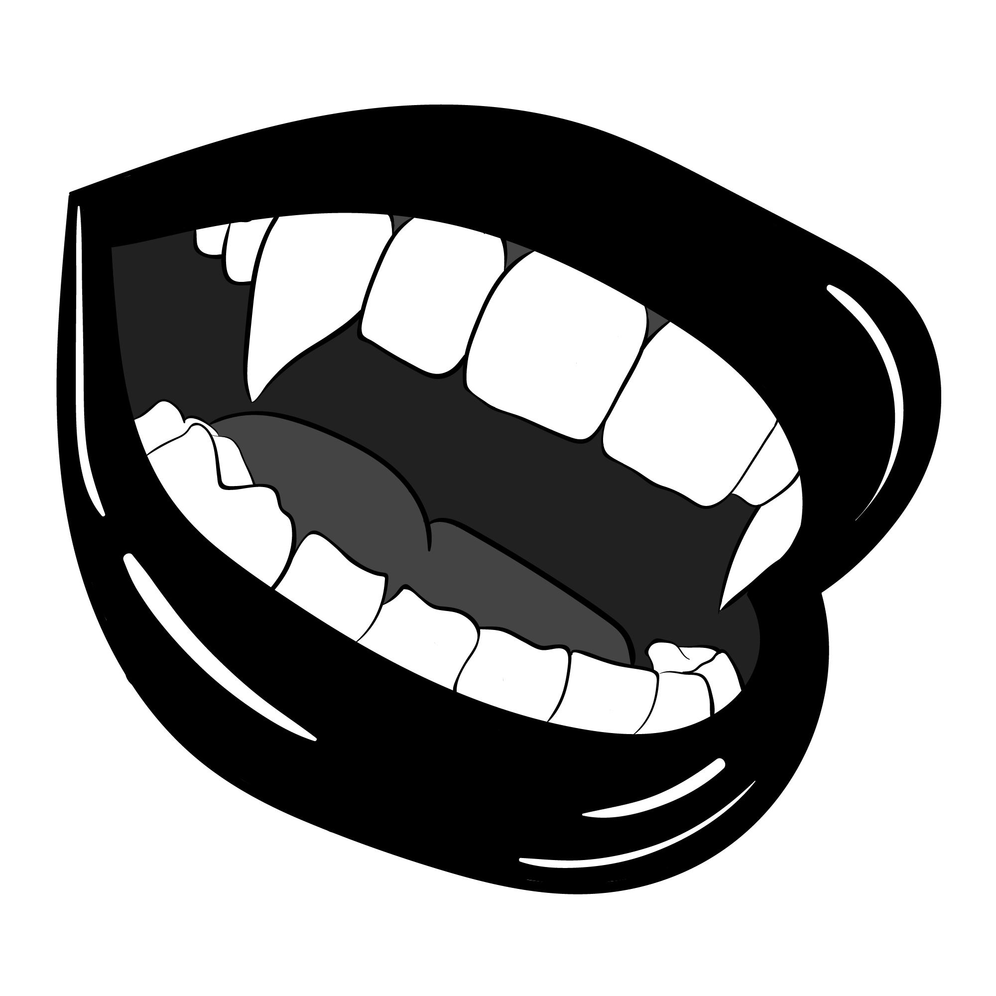 Vampire Fangs Premium Scoop T Shirt By Paperboatuk In 2021 Vampire Teeth Teeth Art Teeth Drawing