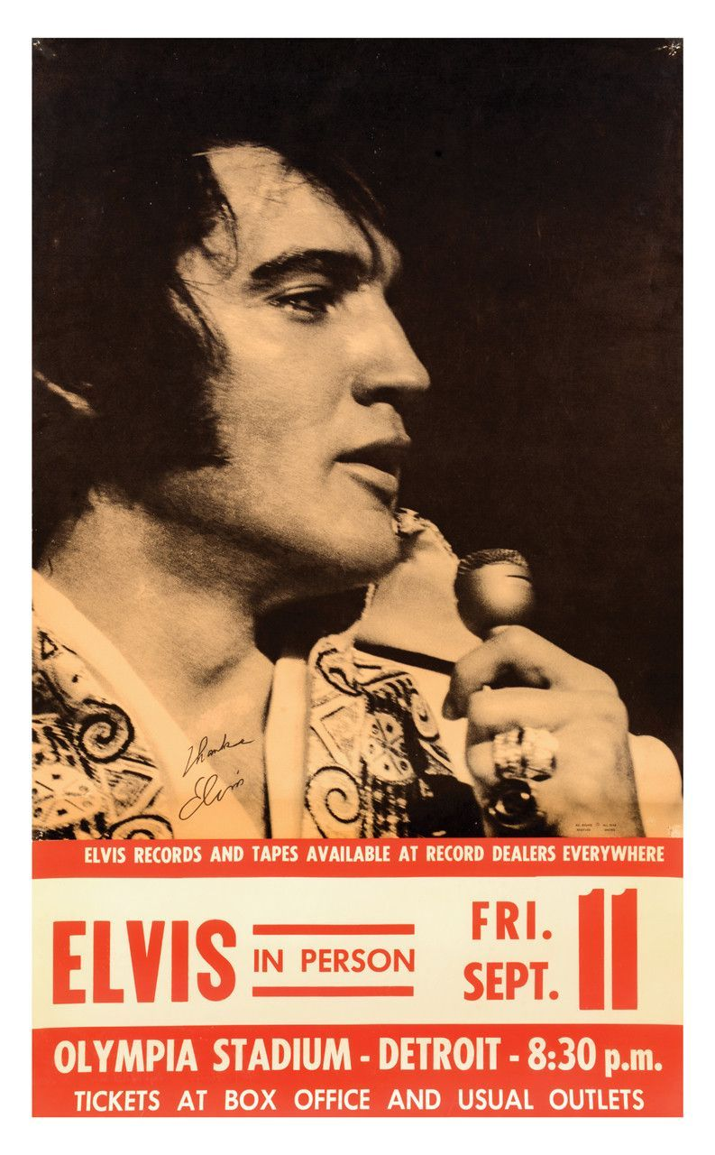 Elvis Presley You/'ve Lost That Lovin/' Lyrics Rock and Roll King Music Poster