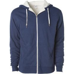 Photo of Unisex Sherpa Lined Zip Hooded Jacket | Independent Independent