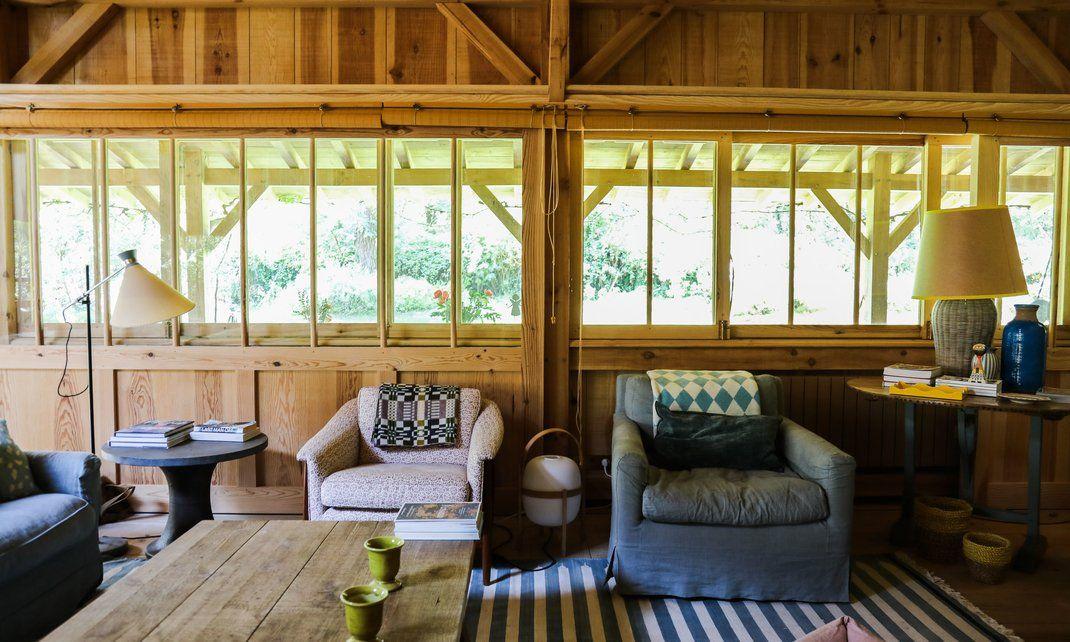 Louisa Rowland, Hardy et Élodie 9 ans Ferret, Cap and Cabin - location maison cap ferret avec piscine