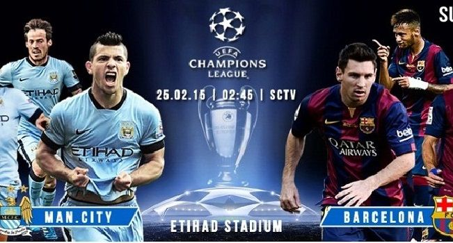 Live Manchester City Vs Barcelona Manchester City City Barcelona