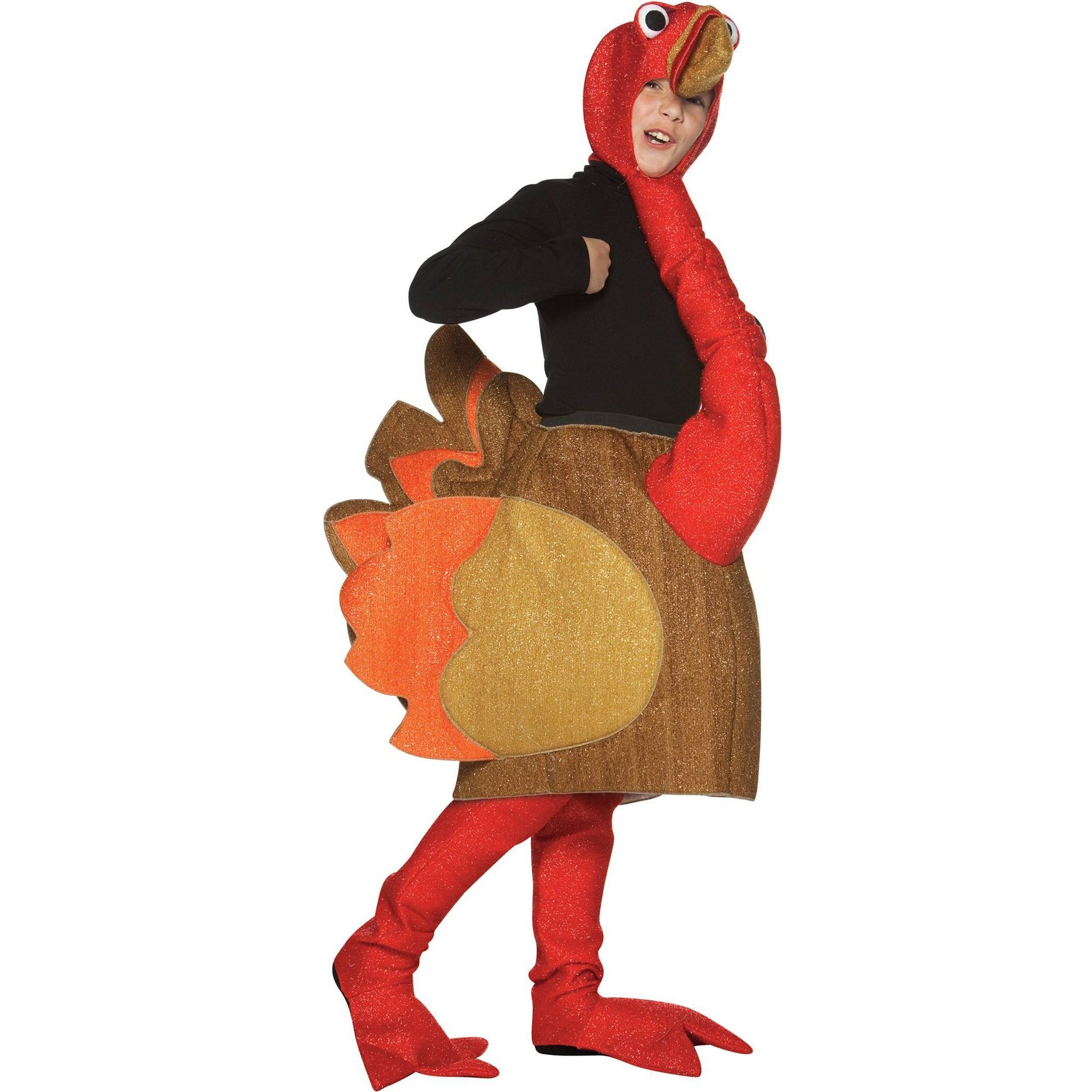 Kids' Turkey Halloween Costume M/L Thanksgiving costumes