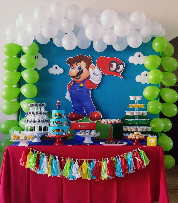 Mario Odyssey Party Mario Odessa 4th Birthday In 2019