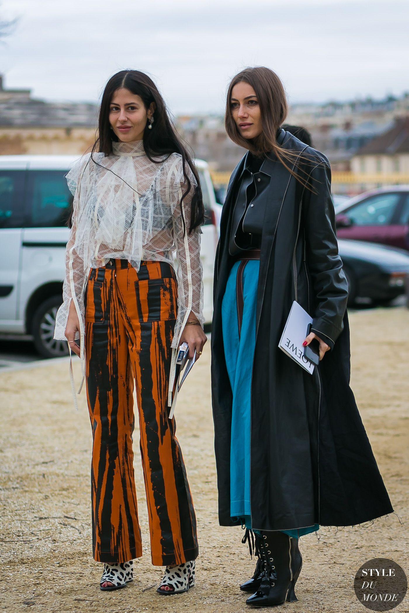 1c91c38b74 Gilda Ambrosio and Giorgia Tordini by STYLEDUMONDE Street Style Fashion  Photography