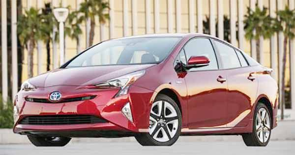 2017 Toyota Prius Prime Gets Solar Cell Roof Unveiled In Us
