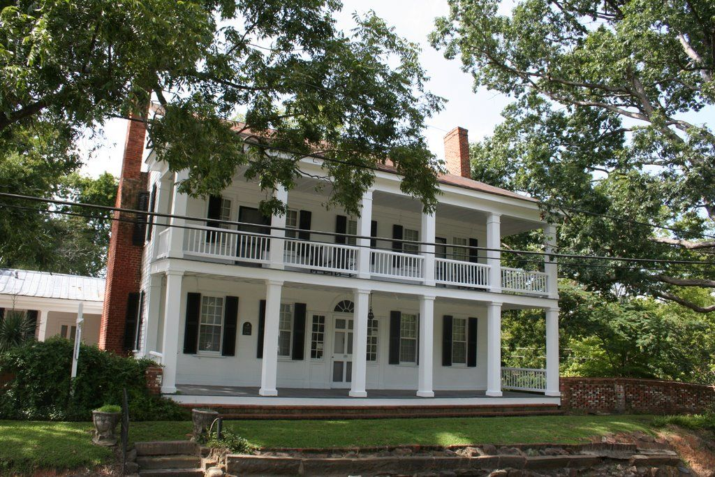 Cool Spring Tavern, the oldest house in Fayetteville, North