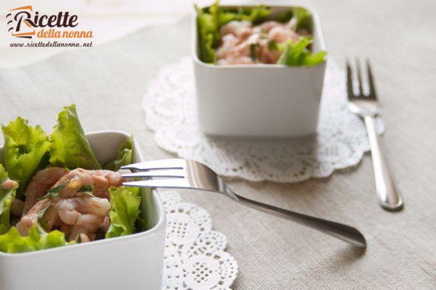 Coktail gamberetti - Shrimp Cocktail #recipe #ricette #italianrecipe #foodidea #foodcreative #christmas