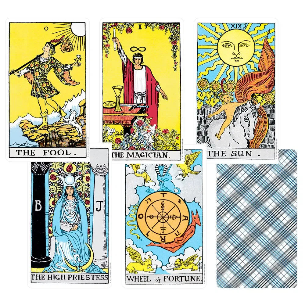 Rider Waite Tarot – The Raven's Wing Magical Co.