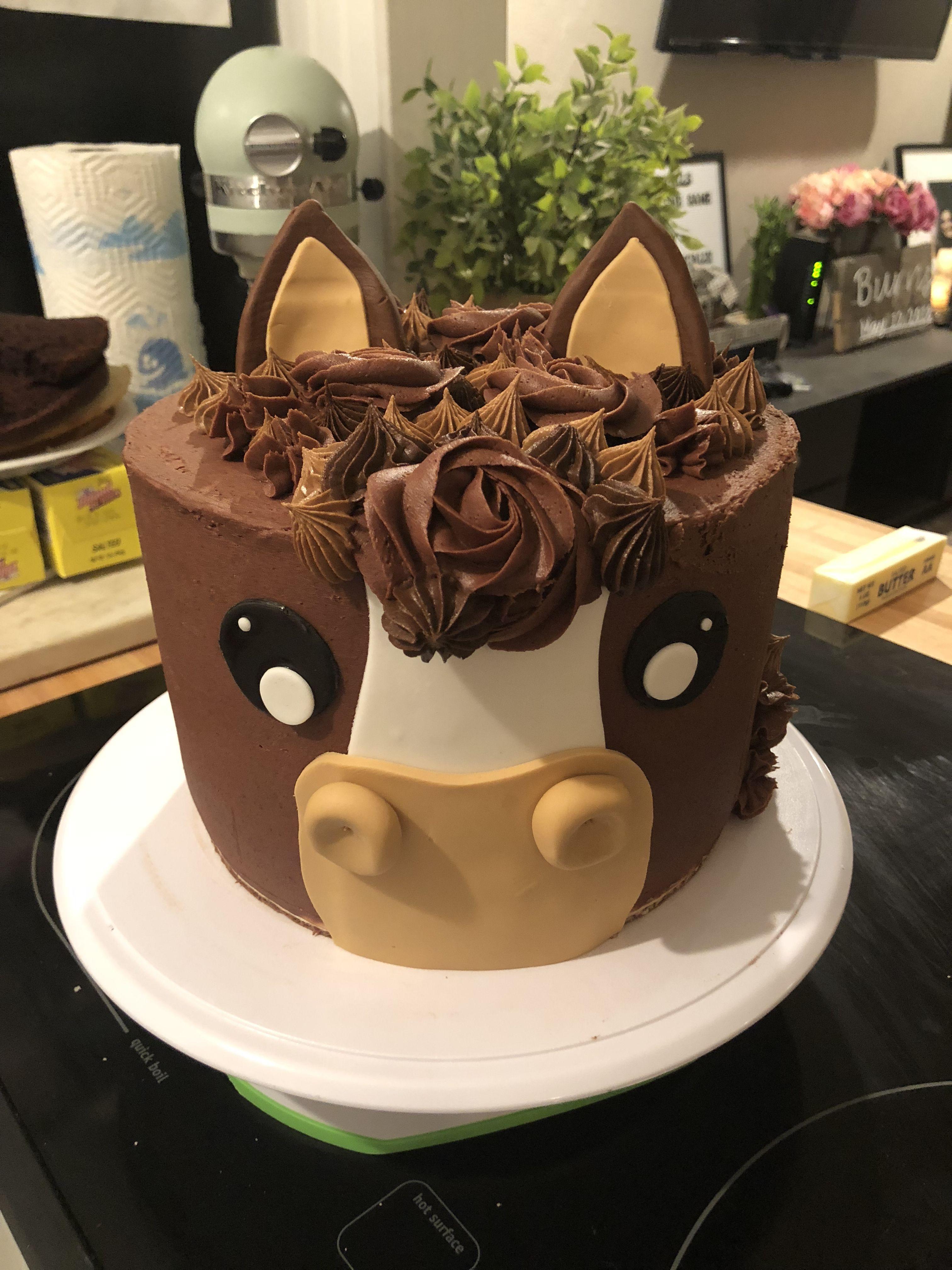 Horse cake for a birthday horse cake horse birthday
