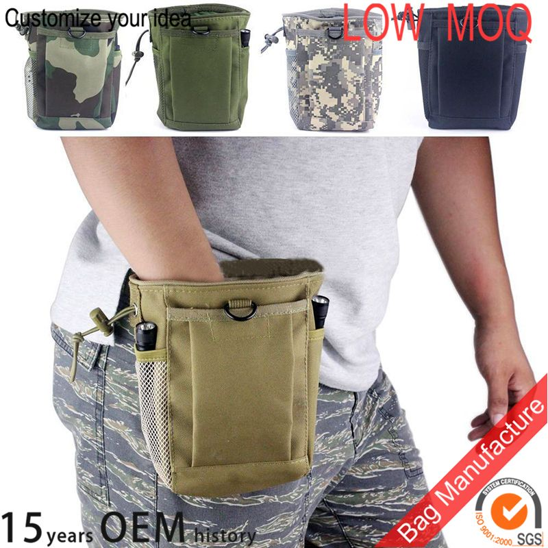 Army Combat Military Utility Pocket Bum Bag Pack Waist Shell Belt Day Travel New
