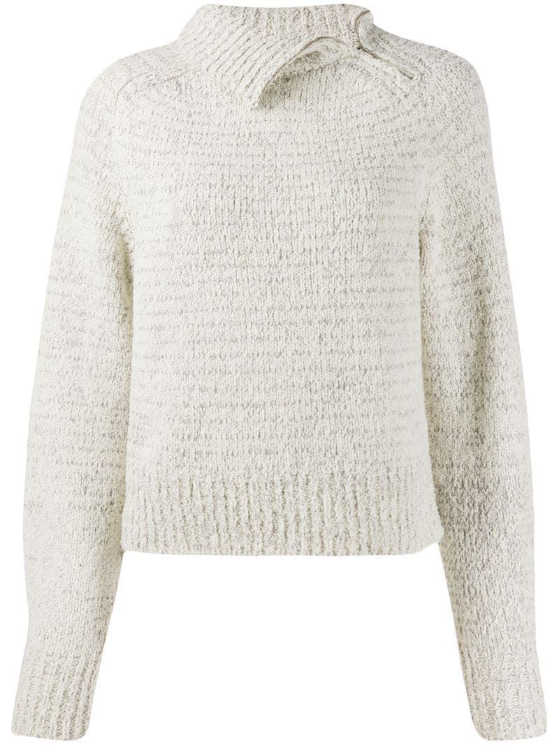 Isabel Marant Chunky Knit Jumper - Farfetch