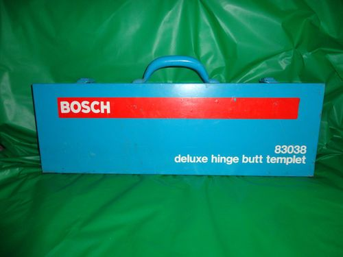 Bosch Deluxe Hinge Butt Template Door Jamb Kit With Metal - Door jamb hinge template