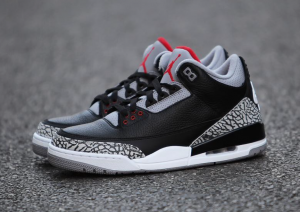 95654eab144d 854262-001 Air Jordan 3 Retro OG Black Cement 2018 Release Date ...
