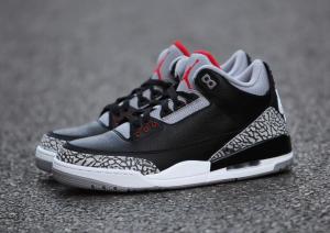 854262 001 Air Jordan 3 Retro Og Black Cement 2018 Release Date Nike Jordans 2018