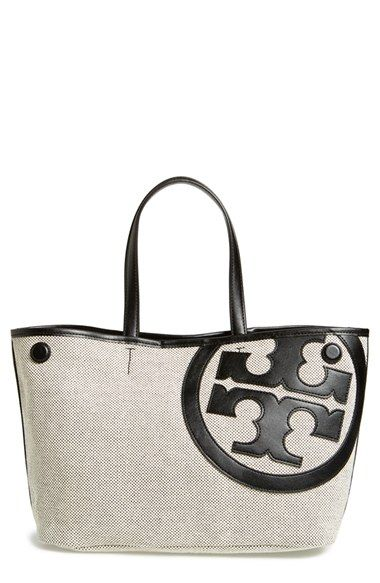935a7f84fa04 Tory Burch  Mini Lonnie  Canvas Tote available at  Nordstrom