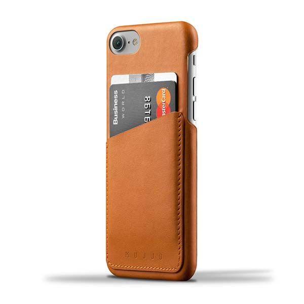 Custodia in Pelle a Portafoglio per iPhone 7 Plus / 8 Plus Mujjo