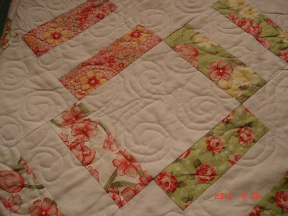 GorgeousQueen Size  Machine Quilted  Bedspread by janearific, $720.00