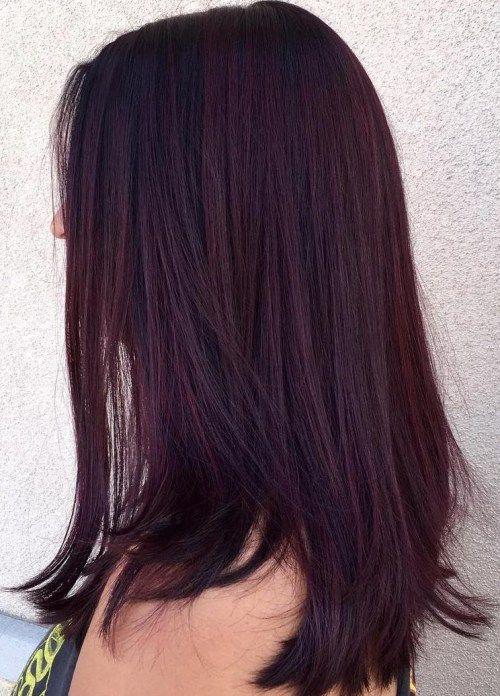 45 Shades of Burgundy Hair: Dark Burgundy, Maroon, Burgundy with Red ...