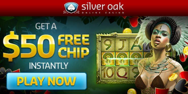 Silveroak No Deposit Bonus