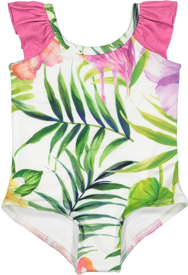 61b9e925d83a6 Masala Baby Flamingo Island Flutter One-Piece Swimsuit | Products in ...