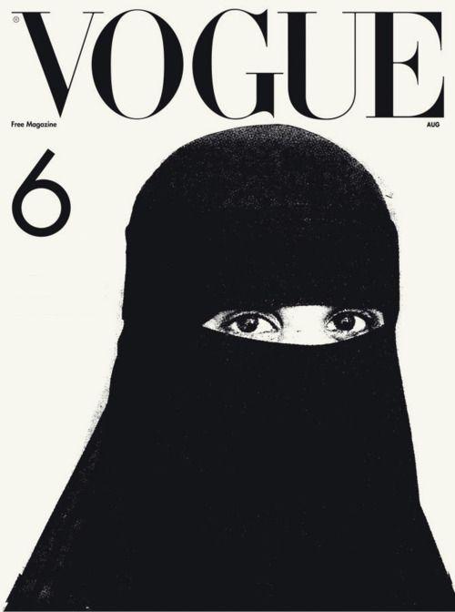 Image result for burqa vogue 2006