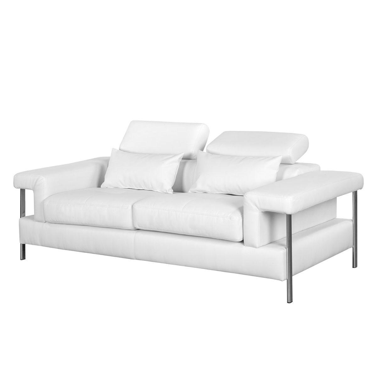 Sofa Skibsby (2 Sitzer) Kunstleder   Weiß, Roomscape Jetzt Bestellen Unter:  Https://moebel.ladendirekt.de/wohnzimmer/sofas/2 Und 3 Sitzer Sofas/?uidu003d  ...
