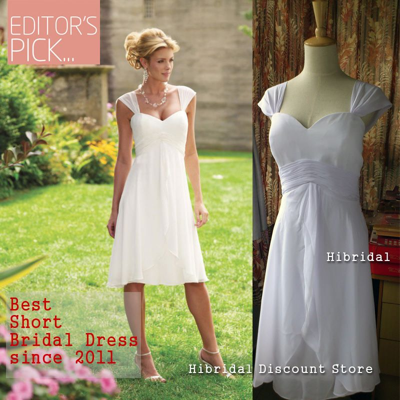Wedding Dresses For Older Brides 2nd Marriage Short Summer Beach Second Marriages Dress
