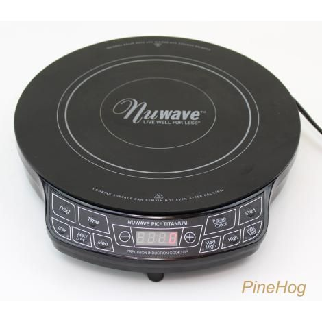 For Sale Nuwave Induction Portable Cooktop Titanium Model 30341 Cq