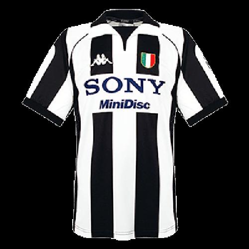 Juventus Retro Soccer Jersey Home Replica 1997/98 | Long sleeve ...