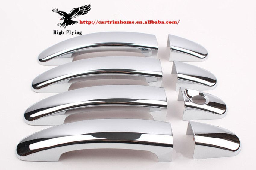 Brand New Chrome Door Handle Cover For Toyota Prado Fj150 2010 2011 2012 Door Handles Chrome Door Handles Car Bling