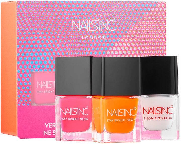 NAILS INC. Stay Bright Neon Nail Polish Set #sscollective #affiliate ...