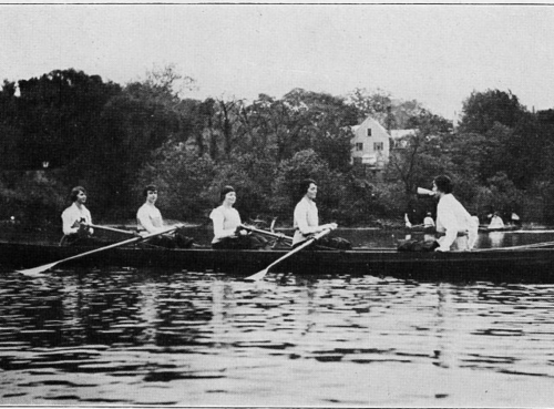 Rowing, 1919.
